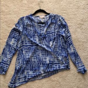 Eight Sixty asymmetrical blouse